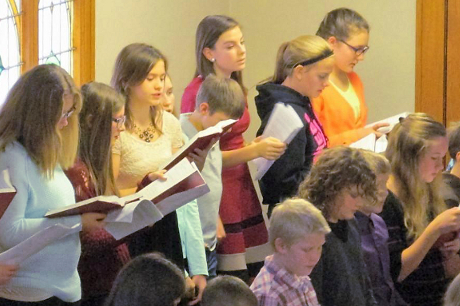 Junior Choir (3rd - 6th Grades)